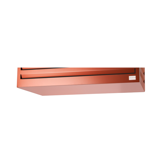 Evolar Evolar bottom panel medium steenrood airco buitenunit omkasting 550 X 1100 MM