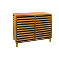Evolar Evo-cover wood small airco buitenunit omkasting 700 X 1000 X 500 MM