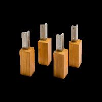 Evolar Opstelvoetjes voor Airco Omkasting - Wood - Set 4 stuks