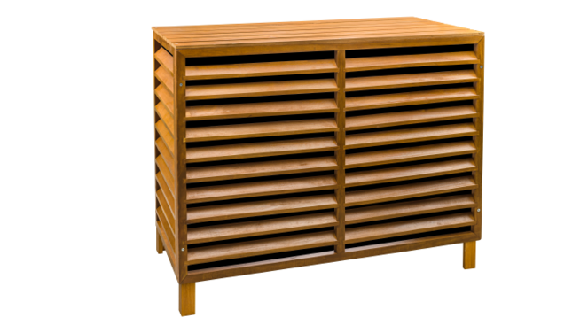 Evolar Evo-cover Wood medium airco buitenunit omkasting 800 X 1100 X 550 MM