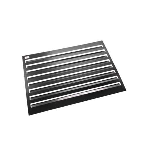 Evolar Evolar Backcover vrijstaand XL zwart airco buitenunit omkasting 1300 X 1700 MM