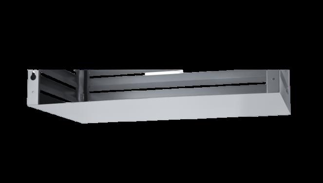 Evolar Bottom Panel voor Airco Omkasting - Antraciet - Uitbreiding XL 750 x 1700 MM