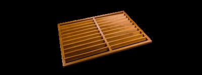 Evolar Backcover Wood vrijstaand medium airco buitenunit omkasting 800 X 1100 MM