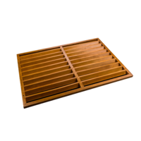 Evolar Backcover voor Airco Omkasting - Wood - Uitbreiding Large 1100 x 1200 MM