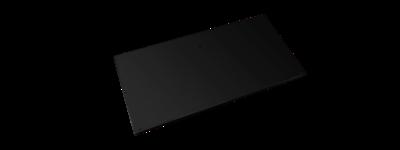 Evolar bottom panel small zwart airco buitenunit omkasting 500 X 1000 MM