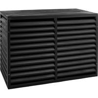 Evolar Evo-cover wood small zwart airco buitenunit omkasting 700 X 1000 X 500 MM