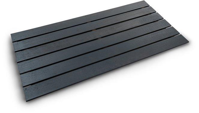 Evolar bottom panel Wood XL antraciet airco buitenunit omkasting 750 X 1700 MM