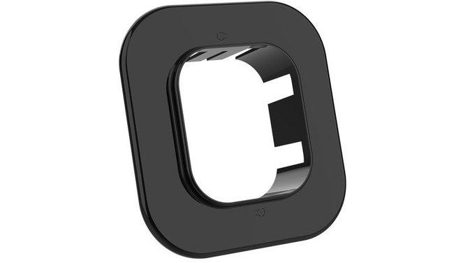 Evolar EVO-RM72BLACK muurflens zwart 72x64mm