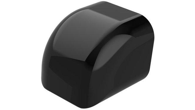 Evolar eindkap zwart 72x64mm
