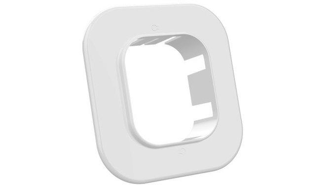 Evolar EVO-RM72WHITE muurflens wit 72x64mm