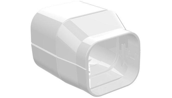 Evolar verloopstuk wit 100mm - 72mm
