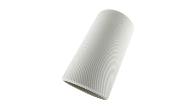 Evolar Afvoerslang voor Mobiele Airco's - Diameter 100MM - Lengte 2000MM