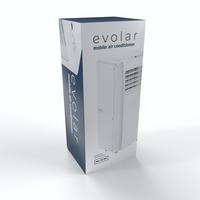 Evolar EVO-7000C - 2,05 kW - Mobiele Airco - 7000BTU - 3-in-1 - Koelen