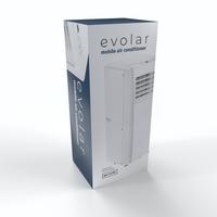 Evolar EVO-9000C - 2,6kW - Mobiele Airco - 9000BTU - 3-in-1 - Koelen