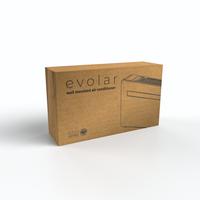 Evolar EVO-M1000CH - 2,93kW - Monoblock Airco - 1000BTU - 4-in1 - Zonder Buitenunit - Koelen & Verwarmen