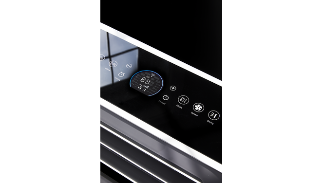 Evolar EVO-ES9000 - Mobiele Airco zonder slang - 2,5kW - 9000BTU - watergekoelde mobiele airco - koelen & verwarmen - slechts 33dB
