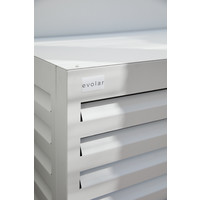 Evolar Evo-cover Airco Buitenunit Omkasting - Wit - Large 1100 X 1200 X 650 MM