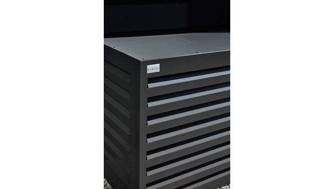 Evolar Evo-cover medium antraciet airco buitenunit omkasting 800 X 1100 X 550 MM