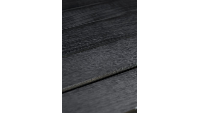 Evolar Evo-cover Airco Buitenunit Omkasting - Zwart - Wood - Large 1100 x 1200 x 650 MM