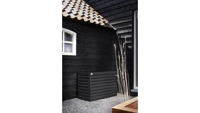 Evolar Evo-cover showroommodel zwart airco buitenunit omkasting 430 X 590 X 180 MM