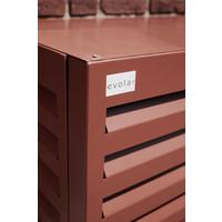 Evolar Evo-cover Airco Buitenunit Omkasting - Steenrood - Small 700 x 1000 x 500 MM