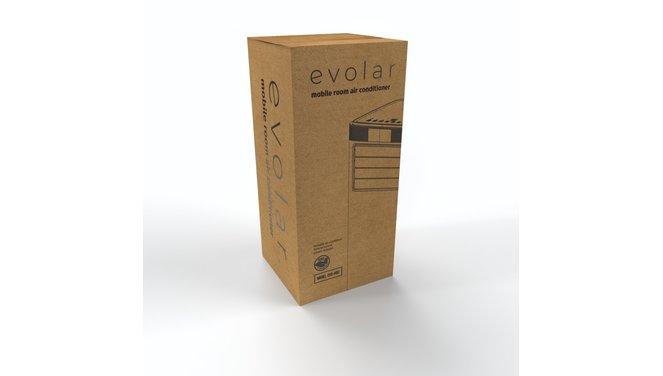 Evolar EVO-90C - 2,5 kW - Mobiele Airco - 7000BTU - 3-in-1 - Koelen