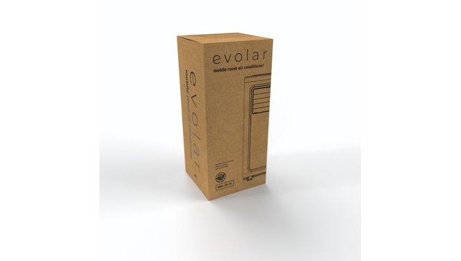 Evolar EVO-70C - 2,0 kW - Mobiele Airco - 7000BTU - 3-in-1 - Koelen