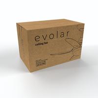 Evolar EVO-CF30MW  - Deckenventilator - Matt White