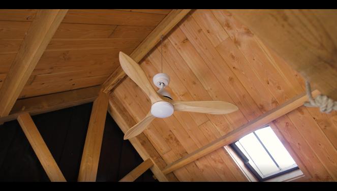Evolar EVO-CF50BW   - Plafondventilator - Zwart/Wit