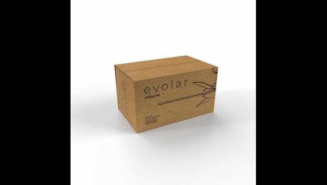 Evolar EVO-CF52CG - Deckenventilator - Coffee Gold
