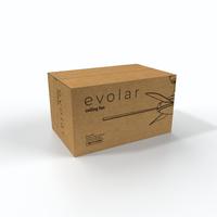 Evolar EVO-CF52MW18 - Plafondventilator - Dimbare LED-verlichting - Mat Wit