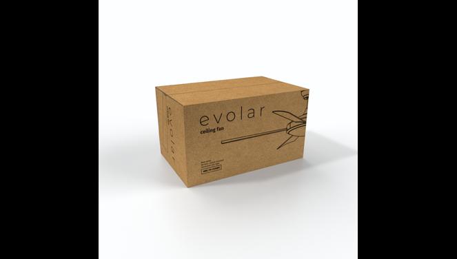 Evolar EVO-CF52MW18  - Deckenventilator - Matt White