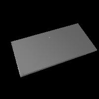 Evolar Bottom Panel voor Airco Omkasting - Antraciet - Uitbreiding XS 400 x 900 MM