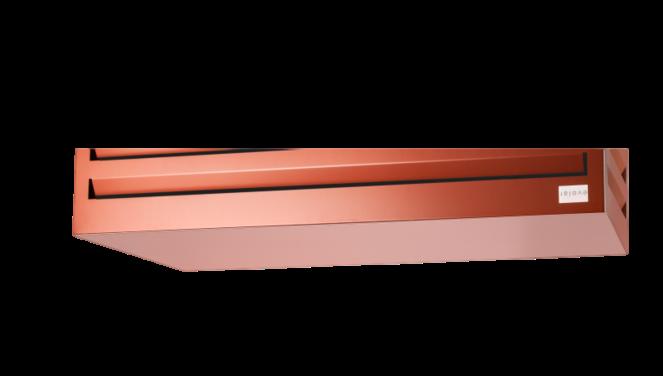 Evolar Bottom Panel voor Airco Omkasting - Steenrood - Uitbreiding XS 400 x 900 MM
