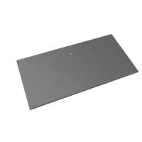 Evolar Bottom Panel voor Airco Omkasting - Antraciet - Uitbreiding Tower 650 x 1200 MM