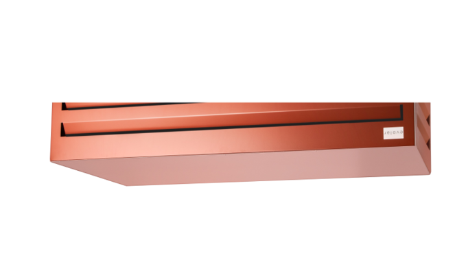 Evolar Bottom Panel voor Airco Omkasting - Steenrood - Uitbreiding Tower 650 x 1200 MM