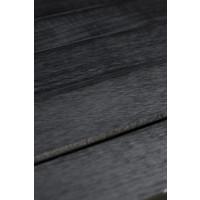 Evolar Evo-Cover Airco Außengerät Baldachin - Schwarz - Holz - XS 600 x 900 x 400 MM