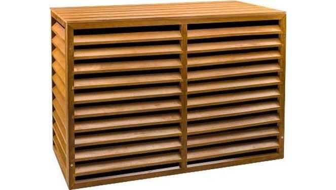 Evolar Evo-cover Airco Buitenunit Omkasting - Wood - Medium 800 x 1100 x 550 MM