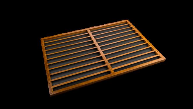 Evolar Backcover Wood vrijstaand XL airco buitenunit omkasting 1300 X 1700 MM - Copy