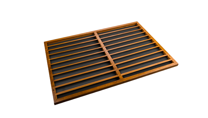 Evolar Backcover voor Airco Omkasting - Wood - Uitbreiding XS 600 x 900 MM