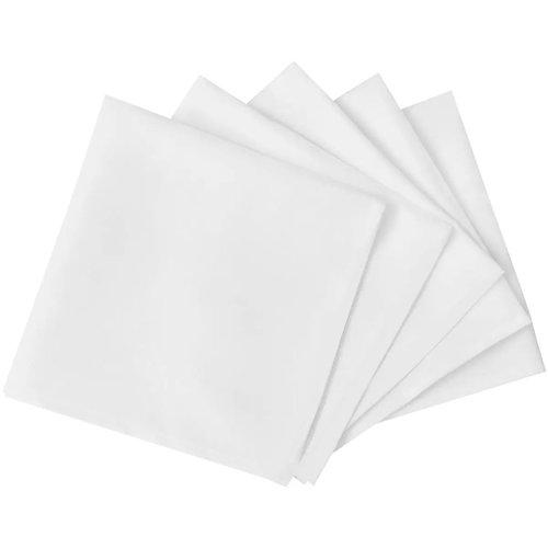 100 Dinner-Servietten Weiß 50 x 50 cm
