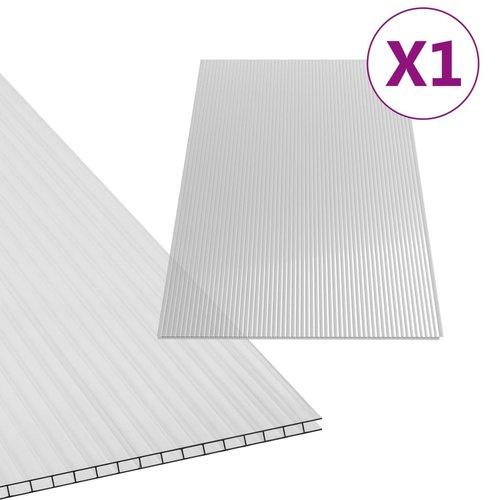 Polycarbonatplatte 4 mm 121×60,5 cm