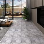 PVC-Laminat-Dielen 4,46 m² 3 mm Selbstklebend Zementbraun