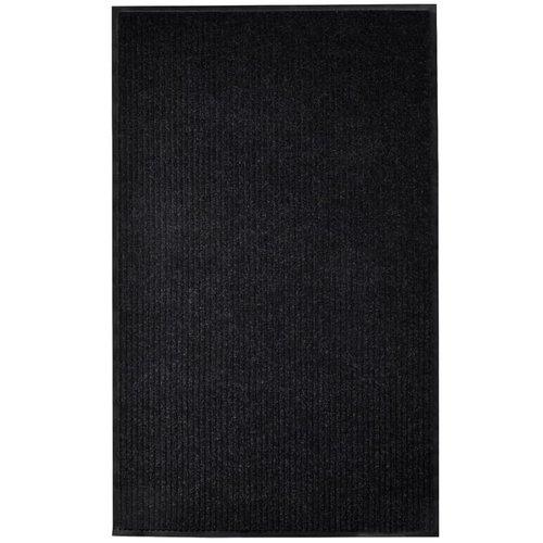 Türmatte Schwarz 160x220 cm PVC