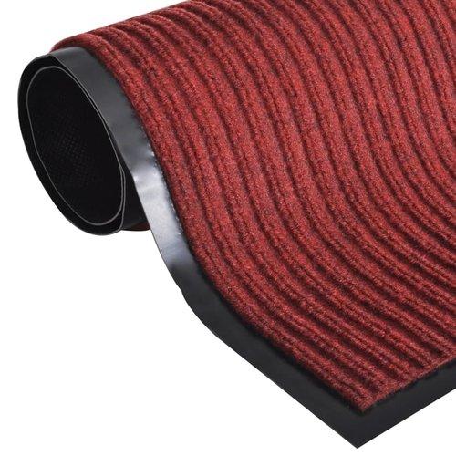 Rote PVC Türmatte 90 x  120 cm