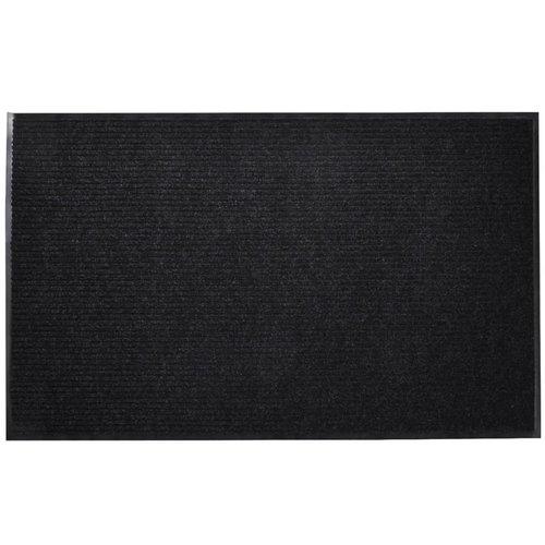 Schwarze PVC Türmatte 120 x 180 cm