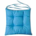 Sitzkissen 4 Stk. 40 x 40 x 8 cm Blau