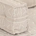 Palettensofa-Auflage Beige Stoff Patchwork