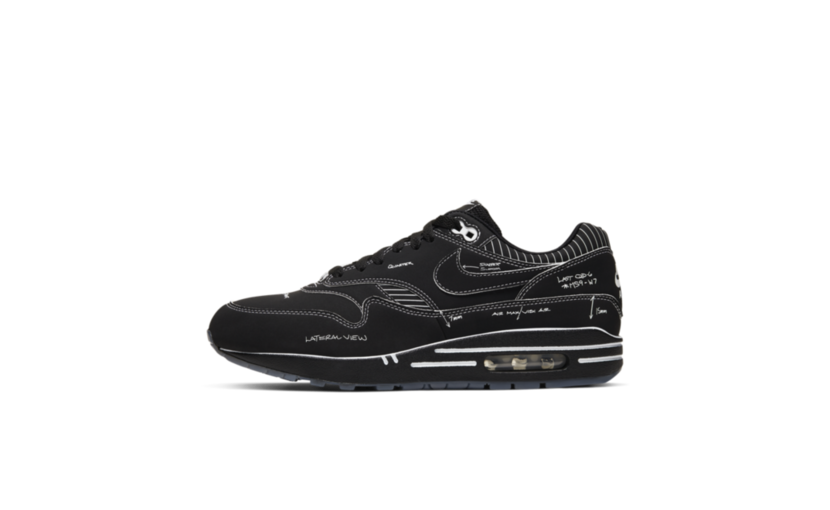 Nike Air Max 1 'Sketch To Shelf Black'