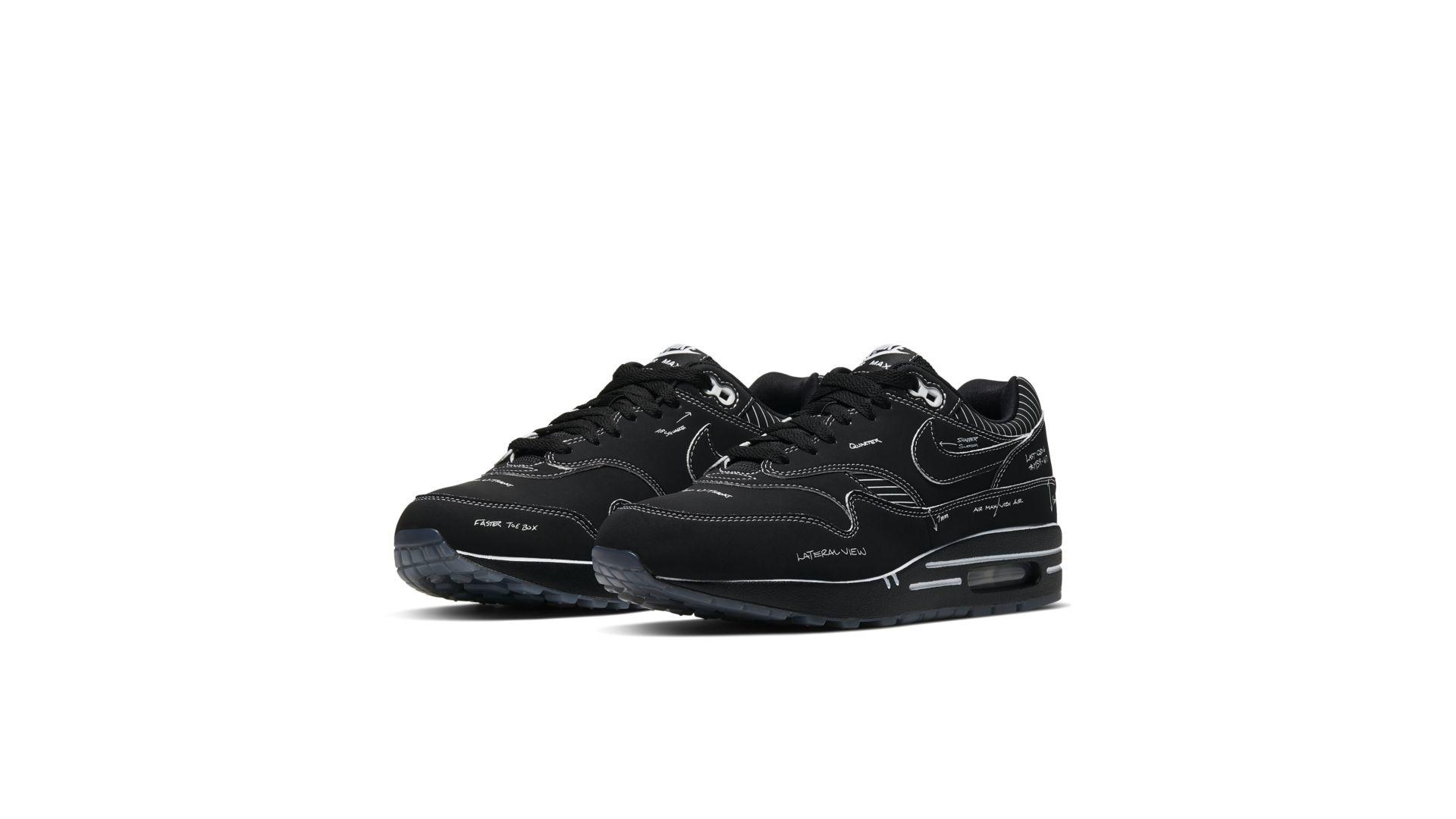 Nike Air Max 1 'Sketch To Shelf Black
